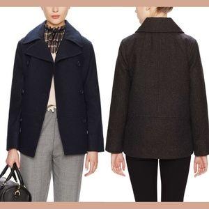 NWT $250 Kate Spade Saturday Wool Peacoat Medium
